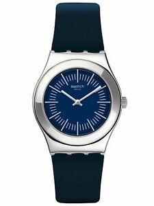 Swatch PALISSADE Rubber Unisex Watch YLS202