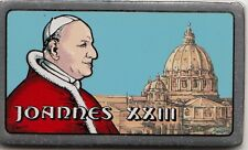 LINGOTTO ARGENTO 1 OUNCE SILVER PAPA GIOVANNI XXIII SMALTATO E BELLO X REGALO