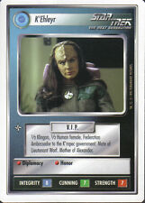 STAR TREK CCG WHITE BORDER PREMIERE 1995 BETA RARE CARD K'EHLEYR