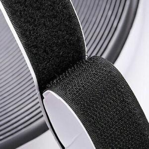 1M Useful Self-adhesive Stick Hook Loop Tape DIY Handicraft Sewing 16-50mm Width