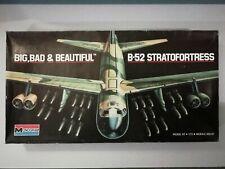 1973 MONOGRAM 1:72 B-52 STRATOFORTRESS PLASTIC MODEL KIT