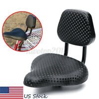 US Wide Comfort Cruiser Tricycle Bike Bicycle Saddle Seat Back Rest Universal