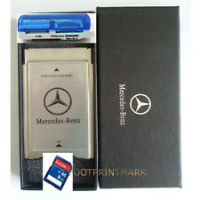 PCMCIA TO SD SDHC CARD Adapter for Mercedes-Benz+SanDisk 16G SD Card +USB Reader
