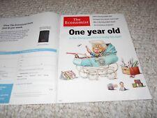 The Economist 2018 Donald Trump Infant No Label On Cover