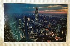 Nester's Map & Guide - New York City - Postcard - Empire State Building Skyline
