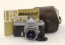 Nikon Nikkormat FT with 50MM f/2 Lens (0547)