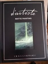 D'ARTISTE MATTE PAINTING BALLISTIC LIMITED FIRST EDITION EMBOSSED LEATHER BOOK