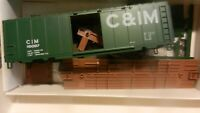Walthers HO  40' Boxcar Kit, Chicago & Illinois Midland, NIB