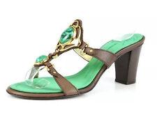 Giuseppe Zanotti Ella Beige Jewel Stone Mules Sandals 1015 Size 36 MSRP $595