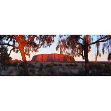 Uluru ~ Ayers Rock 1000 piece Jigsaw by John Temple