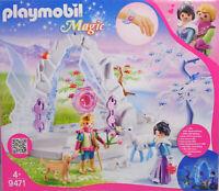 Playmobil 9471 Kristalltor Winterwelt mit Lichteffekt, Armreif  Tiere Prinz NEU