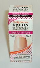 Sally Hansen Salon Effects Real Nail Polish Strips POLKA PARTY 006 French Mani