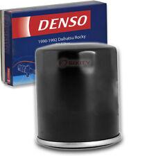 Denso Oil Filter for Daihatsu Rocky 1.6L L4 1990-1992 Engine Tune Up Kit va