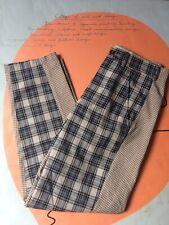 comme des garcons homme plus split - multi chequered trousers - W30 x L29