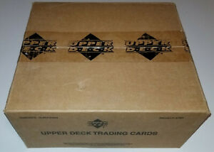 ⛳ 2001 Upper Deck Golf Factory Sealed 12 Green Hobby Box Case TIGER WOODS RC #1⛳