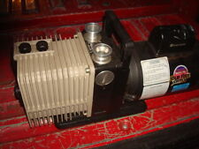 ROTARY VANE VACUUM PUMP 2 STAGE  PRECISION SCIENTIFIC 1/2 HP DD-100 or milker