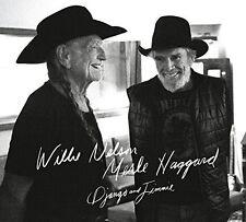 Willie Nelson and Merle Haggard - Django & Jimmie [New CD]