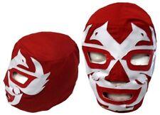 Kids Dos Caras Red Pro Wrestling Mask Lucha Libre EMLL