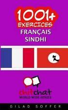 1001+ Exercices Français - Sindhi by Gilad Soffer (2016, Paperback)