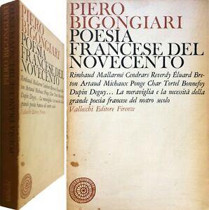 POESIA FRANCESE DEL NOVECENTO di Piero Bigongiari – Vallecchi 1° ed. 1968 - IED