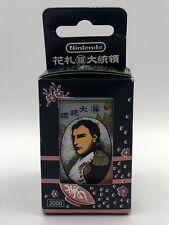 Nintendo vintage Hanafuda Daitoryo Napoleon cards 1980s NEW in box black NIB