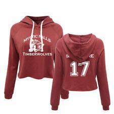 Mystic Falls Timberwolves Pullover Salvatore 17 Sweatshirt Lady crop top Hoodies