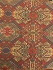 Vintage Cotton Tapestry Remnant Made In Belgium