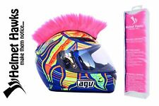 Helmet Hawks Mohawk Fluorescent Hot Pink Motorcycle Motorcycle Ski Bike Helmets