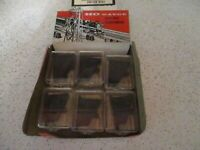 Vintage Ho Scale Ideal Models single Pole doubleThrow  Switch Controls X6 NOS