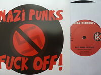 "DEAD KENNEDYS 45 RPM 7"" - Nazi Punks F*ck Off 2014 RE-ISSUE"