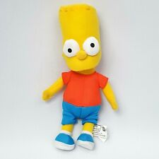 "Toy Factory 10"" Bart Simpson Simpsons Plush Stuffed Doll 2014"
