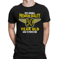 Mens 30th Birthday T-Shirt Premium Quality 30 Year Old Birthday Gift Funny Top