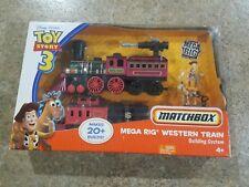 Toy Story 3 Mega Rig Western Train Building Set NEW