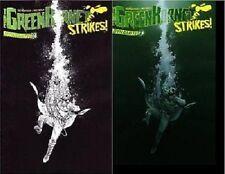 1:25 bw variant GREEN HORNET STRIKES #2 DYNAMITE COMIC BOOK 1st print set (2)