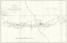 USCGS Triangulation. Atlantic-Pacific coasts ILLINOIS MISSOURI St Louis 1881 map