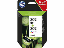 HP 302 2-pack negro/Tri-color cartuchos originales (X4D37AE)