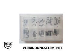 Gewindestifte Sortiment DIN 916 mit ISK und Ringschneide V2A A2 M2 200 Teile