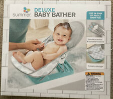 summer deluxe baby bather