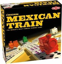 Original Mexican Train Domino Game Tactic 2011 Complete Lovely