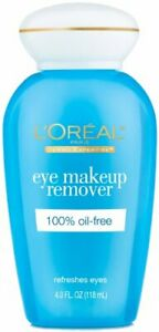 L'Oreal Paris Dermo Expertise Eye Make-up Remover 4 oz. (Lot of 3)