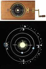PLAQUE ASTRONOMIQUE  vers 1860 / lanterne magique magic lantern / 525