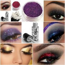 Stargazer Glitter Eye Shadow Fixing Gel + Glitter Eyeshadow +Wand Makeup 4 Eyes