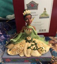 Disney Traditions Jim Shore Tiana Personality Pose FIGURINE 6001279 New In Box