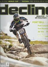 Decline magazine World Cup Carbon demo Enve Twenty6 AM Wheels Enduro race setups