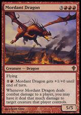 MTG MORDANT DRAGON ASIAN - DRAGO CAUSTICO - WWK - MAGIC