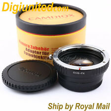 Camdiox Focal Reducer Speed Booster Canon EOS EF lens to Fujifilm FX PRO Adapter
