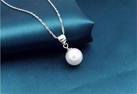 HUGE Beautiful AAA 14mm SOUTH SEA white Shell Pearl Pendant