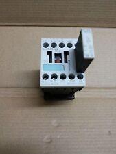 SIEMENS 3RH1140-1BB40 CONTACTOR, AC-3 5.5KW/400V,  WITH 3RT1916-1BB00 VARISTOR
