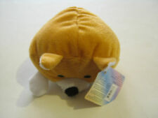 Beanpal Brown Fat Dog, (I Think) by Kellytoy  with original ear tag (GS6-6)