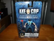 AXE COP AND UNIBABY SET WITH ACCESSORIES, NEW IN PACK, MEZCO, 2013